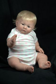 Reborn Baby From Lily Berenguer Doll