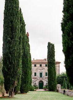 Intimate Italian Wedding at Villa Cetinale via oncewed.com