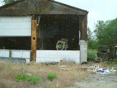 PT 291CALDWELL IDAHO MAY 15. OLD GARAGE BUILDING.