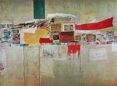 Rauschenberg - Rebus - at the MoMA