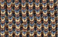 Brioche Knitting - Brioche Stitches in Color