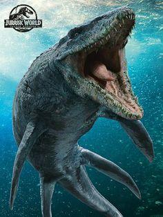 Jurassic World Fallen Kingdom Mosasaurus