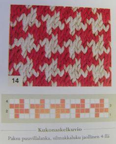 Pirena: Kukonaskelin syksyyn Crochet Pattern, Knit Crochet, Knitting Charts, Scrunchies, Mittens, Ravelry, Applique, Butterfly, Crafts