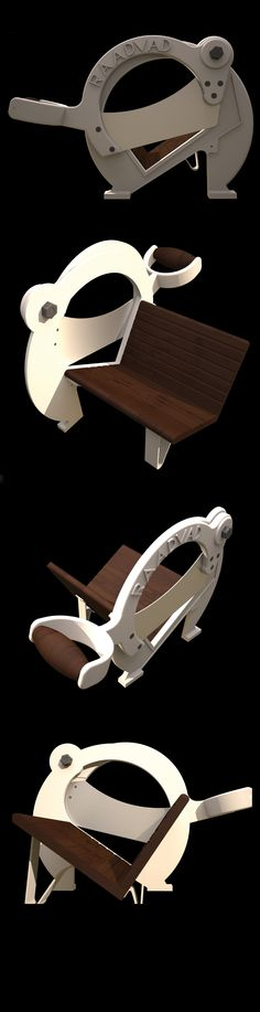Product rendering - Raadvad bread slicer - SolidWorks - Vray - Mads Holm Jacobsen Architecture & design, Aalborg University.