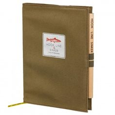 Wild & Wolf Hook, Line & Sinker Notizbuch mit Bleistift Wild Wolf, Fishing Gifts, Office Accessories, Cool Gifts, Line, Stationery, Notebook, Pencil, Notes