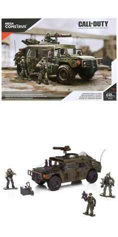 Mega Bloks Call of Duty Armored Vehicle Charge 618 Peices for sale online Lego Army, Lego Military, Call Of Duty Toys, Star Wars Furniture, Lego Halo, Mega Blocks, Lego Clones, Armored Vehicles, Lego Vehicles