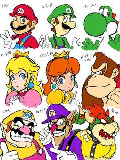 Super Mario Bros Games, Super Mario Art, Super Mario World, Super Mario Brothers, Super Smash Bros, Metroid, Kirby Character, Character Design, Super Princess Peach