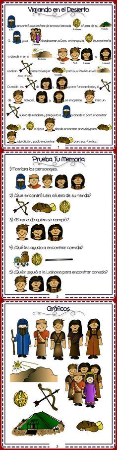 Historias del Libro de Mormon para ninos en Espanol.