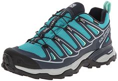 Salomon Womens X Ultra 2 GTX Hiking Shoe Peacock BlueDeep BlueLucite Green 75 M US >>> This is an Amazon Affiliate link. You can find out more details at the link of the image.