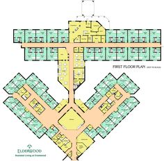 Living Room : Floor Plan Elderwood Assisted Living At Crestwood