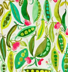 "SharonNullmeyerpaints-Nullsie (@nullsie) on Instagram: ""Enjoying this month of patterns in @lisacongdon 's class on @creativebug ! Today , I took some…"""
