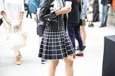 Street look à la Fashion Week printemps-été 2014 de New York, Jour 4 http://www.vogue.fr/defiles/street-looks/diaporama/street-looks-a-la-fashion-week-printemps-ete-2014-de-new-york-jour-4/15118/image/823976#!10