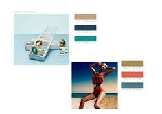 Palette color ss 2015 concept by Marzi Sangiorgi