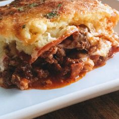 Upside Down Pizza Casserole | Keto, Gluten Free