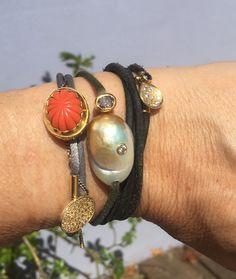 6f91cf85f1f De 19 bedste billeder fra Bracelets | Keshi pearls, Anklet og Bangles