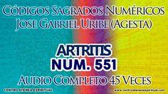 ARTRITIS 551 CODIGOS NUMERICOS SAGRADOS JOSE GABRIEL URIBE (AGESTA).