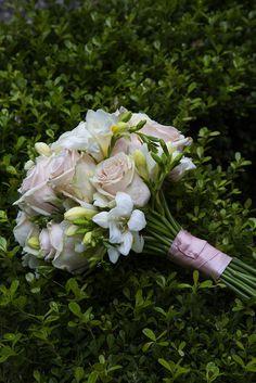 Bouquet rosa e bianco #matrimonio