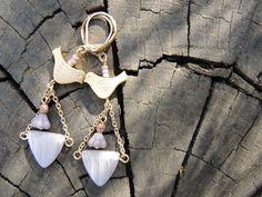 Moois van ' M(i)e': Juwelen/jewelry - DIY : project : vogelbellen/earrings with birds