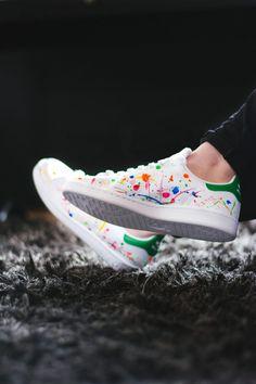 pretty nice 6f6d4 2e737 Comment customiser ses chaussures   15 idées