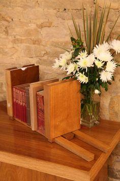 Solid Oak bookends