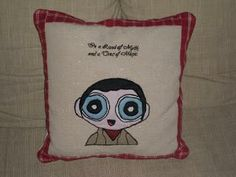 https://www.facebook.com/HandmadeCutiesByGiusi Merlin-Cushion