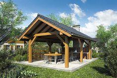 Outdoor Buildings, Garden Buildings, Outdoor Structures, Backyard Pavilion, Backyard Retreat, Wooden Summer House, Modern Gazebo, Pavillion, Gazebo Plans