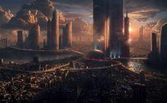 Ancient city HD Wallpaper