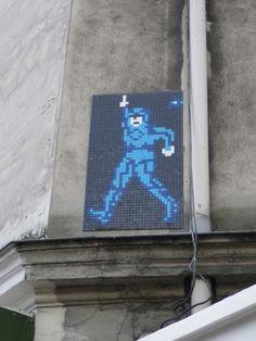 Space Invader - Paris 8, avenue Myron Herrick