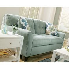 Sauder Premier Crash Convertible Sofa, Dark Gray | Gray furniture