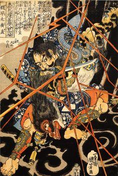 Dragon - Utagawa Kuniyoshi - WikiPaintings.org
