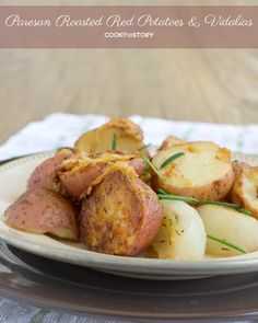 The Best Potato Recipe: Parmesan Roasted Potatoes with Vidalia Onions