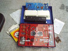Philips ee 2000 ELEKTONIK LABOR im Koffer, Experimentierkasten, Radiomann | eBay