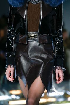 See detail photos for Rodarte Fall 2015 Ready-to-Wear collection.