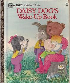 Daisy Dog's Wake Up Book Excellent RARE Little Golden Book 1974 | eBay