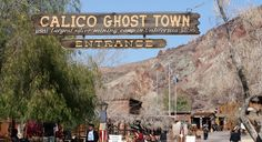 Calico Ghost Town - One of America's coolest ghost towns according to Travel & Leisure.