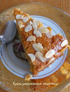 Σιροπιαστή ταχινόπιτα με σιμιγδάλι (αλάδωτη) - cretangastronomy.gr