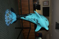 Harmony, Ruth Eckerd Hall dolphin, at Ruth Eckerd Hall, Clearwater.