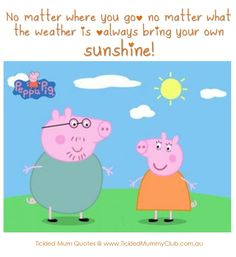 Quote | No matter where you go; no matter what the weather is, always bring your own sunshine! Yes, I've got my BYO sunshine by my side, on a rainy day like today!! :)  #TickledMummyClub #Quote #Sunshine