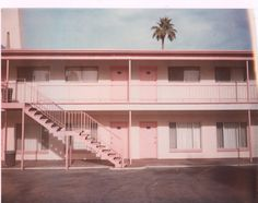 #travelcolorfully pink motel