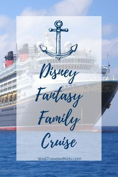 Best Family Trip: Setting Sail aboard the Disney Fantasy Cruise Ship| Luxury Family Cruise Vacation | Disney Travel | Disney Cruise Tips | Florida to the Caribbean #disney #familytravel