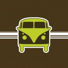VW Bus print