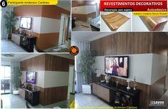 Revestimento que adesivo, fabricado em PVC vinílico , dcfix. Confira mais em www.savor.com.br