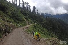 Trusting Google map is not always good but many times gives you superb surprises. And here is one of them. . I lost my ways to Shimla and came across with this beautiful but rocky tiny road. Rain was added fun with muddy cycle shoe and lastly myself. . Few more kilometres and I stoped a small truck and driver asked me how Come you are on this road? I told my story about map and huge laugh from both side. Few minutes of talk with amazing people I offered was some of most tastiest apples in my…