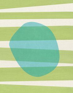 untitled #2 - LARGE mid century design art print