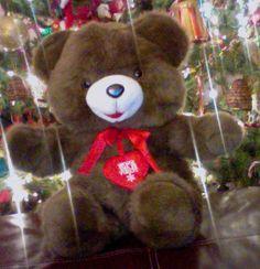 Vintage Walmart Snowflake Teddy