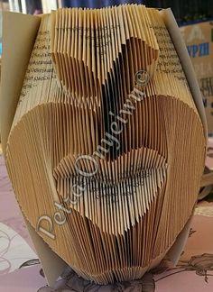 Bücher Falten, Book Folding, Bücher Kunst