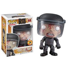 Funko - SDCC 2013 Exclusive - Prison Guard Walker with Blood Splatter - #SDCC #ComiCon #TheWalkingDead #FunkoPop #BloodSplatter #PrisonGuardWalker #Zombie