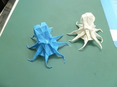 Satoshi Kamiya Octopus Folding Instructions from CP