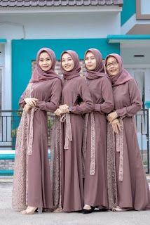 Hijab Style Dress, Hijab Prom Dress, Kebaya Muslim, Kebaya Hijab, Kebaya Wedding, Baby Girl Dress Design, Simple Bridesmaid Dresses, Abaya Designs, Muslim Fashion