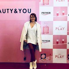 Una mañana fantástica junto con mis compañeras-blogger en la @ccncondomina en el evento de #primormurcia un placer estar con vosotros y disfrutar de este maravilloso evento . Muchas gracias  #belleza #moda #blogger #streetstyle #look